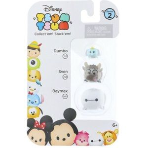 Disney Tsum Tsum Series 2 Baymax, Sven, & Dumbo